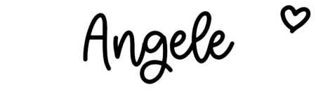 About the baby name Angele, at Click Baby Names.com