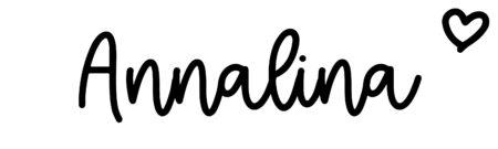 About the baby nameAnnalina, at Click Baby Names.com