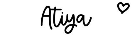 About the baby nameAtiya, at Click Baby Names.com