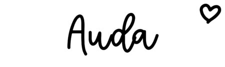 About the baby nameAuda, at Click Baby Names.com