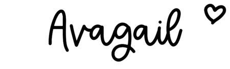 About the baby nameAvagail, at Click Baby Names.com