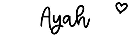 About the baby nameAyah, at Click Baby Names.com