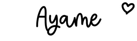 About the baby name Ayame, at Click Baby Names.com