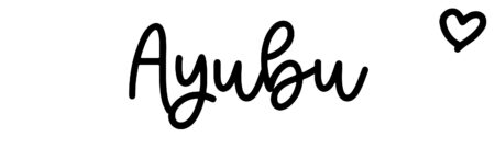 About the baby nameAyubu, at Click Baby Names.com