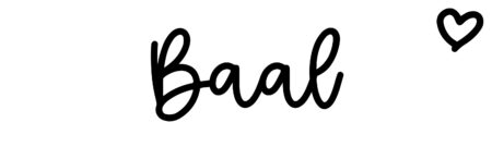 About the baby name Baal, at Click Baby Names.com