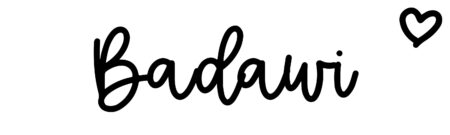 About the baby nameBadawi, at Click Baby Names.com