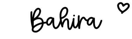 About the baby nameBahira, at Click Baby Names.com