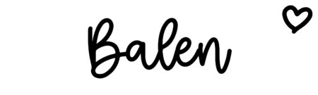 About the baby nameBalen, at Click Baby Names.com