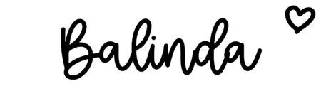About the baby nameBalinda, at Click Baby Names.com