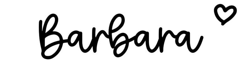 About the baby nameBarbara, at Click Baby Names.com