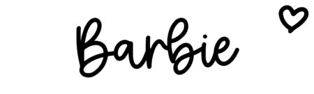 About the baby nameBarbie, at Click Baby Names.com