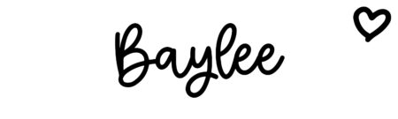 About the baby nameBaylee, at Click Baby Names.com