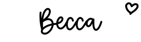 About the baby nameBecca, at Click Baby Names.com