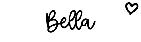 About the baby nameBella, at Click Baby Names.com