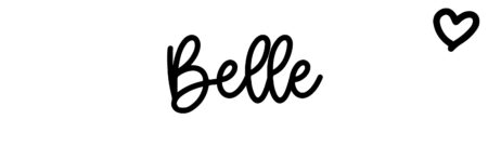 About the baby nameBelle, at Click Baby Names.com