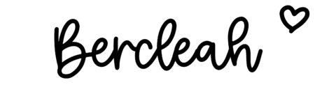 About the baby nameBercleah, at Click Baby Names.com