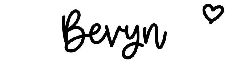 About the baby nameBevyn, at Click Baby Names.com