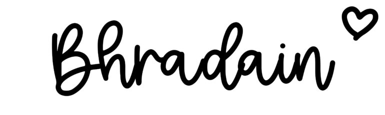 About the baby nameBhradain, at Click Baby Names.com