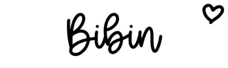 About the baby name Bibin, at Click Baby Names.com