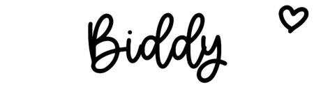 About the baby name Biddy, at Click Baby Names.com