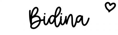 About the baby nameBidina, at Click Baby Names.com