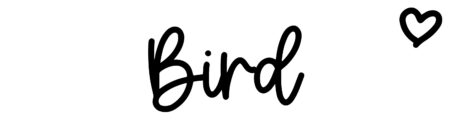 About the baby nameBird, at Click Baby Names.com