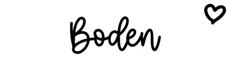 About the baby name Boden, at Click Baby Names.com