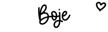 About the baby name Boje, at Click Baby Names.com