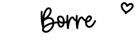 About the baby name Borre, at Click Baby Names.com