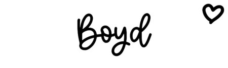 About the baby name Boyd, at Click Baby Names.com