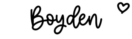 About the baby name Boyden, at Click Baby Names.com