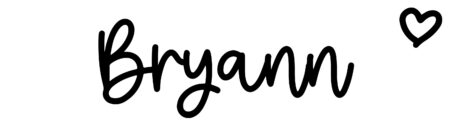 About the baby nameBryann, at Click Baby Names.com
