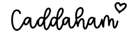About the baby nameCaddaham, at Click Baby Names.com