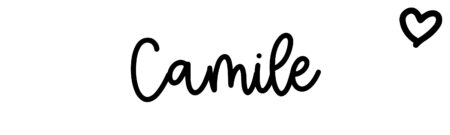 About the baby name Camile, at Click Baby Names.com