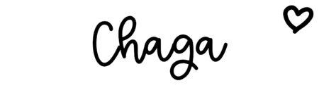 About the baby nameChaga, at Click Baby Names.com