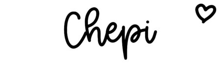About the baby name Chepi, at Click Baby Names.com