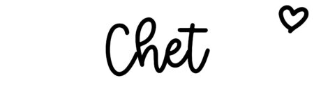 About the baby name Chet, at Click Baby Names.com
