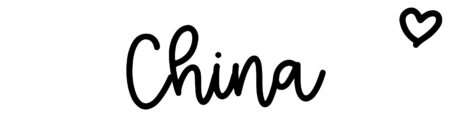 About the baby nameChina, at Click Baby Names.com