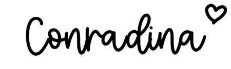 About the baby nameConradina, at Click Baby Names.com