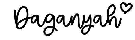 About the baby nameDaganyah, at Click Baby Names.com