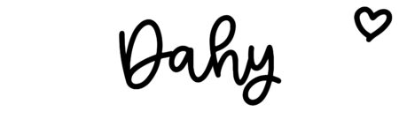 About the baby nameDahy, at Click Baby Names.com