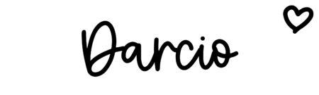 About the baby nameDarcio, at Click Baby Names.com