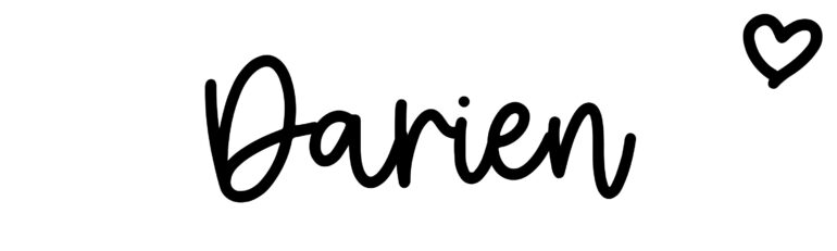 About the baby nameDarien, at Click Baby Names.com
