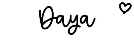 About the baby nameDaya, at Click Baby Names.com