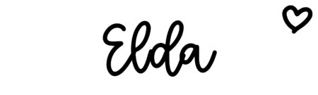 About the baby name Elda, at Click Baby Names.com