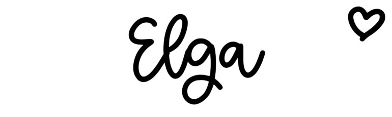 About the baby nameElga, at Click Baby Names.com
