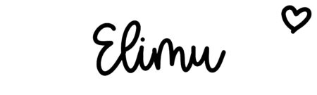 About the baby nameElimu, at Click Baby Names.com