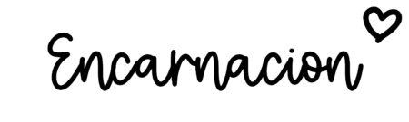 About the baby nameEncarnacion, at Click Baby Names.com