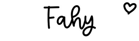 About the baby name Fahy, at Click Baby Names.com