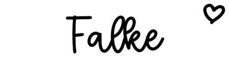 About the baby name Falke, at Click Baby Names.com